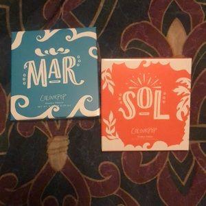 Colourpop Sol and Mar Palette Duo